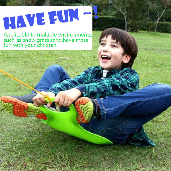 Outdoor Snow Sled for Kids/Adult,Grass Skiing, Sand Board, Winter Toboggan - #FNUKT-03000