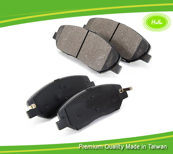 Brake Pad Semi Metallic Front For Hyundai Santa Fe KIA Sedona 581010WA00 - #41020-BP104