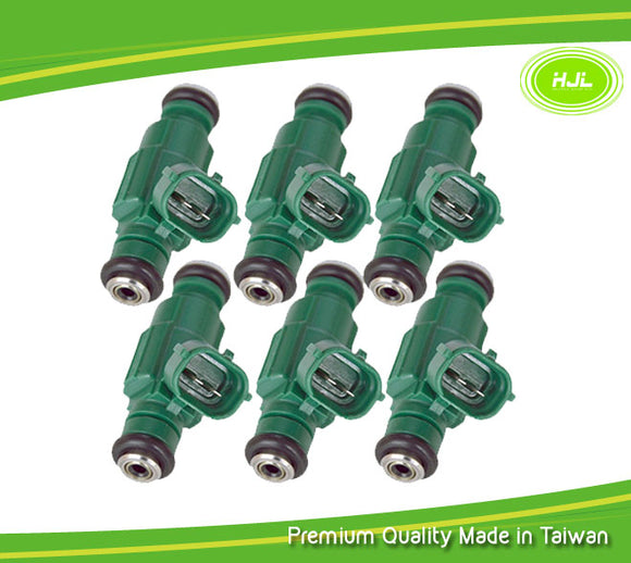 6Pcs Fuel Injector For Hyundai Sonata Santa Fe Tucson Kia Optima Rio 3531037150 - #41077-72110