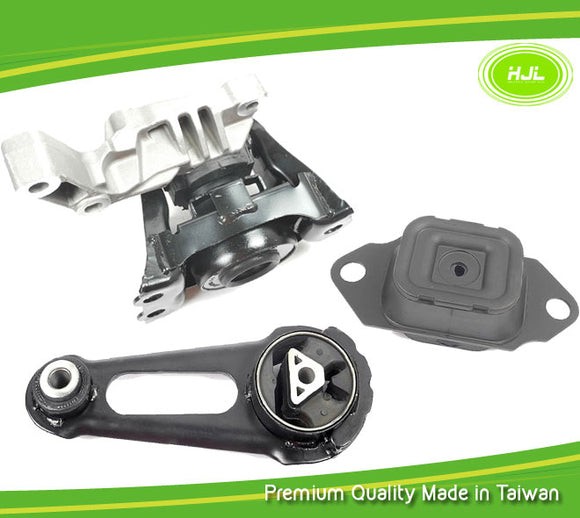 Engine Motor Mount 3 PCS For Nissan Versa 1.6L 112101HS0A 112201HA0B 113601HC0D - #49790-EM003