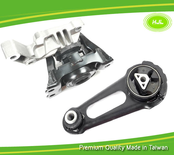 Engine Motor Mount 2 PCS Set For Nissan Versa 1.6L 112101HS0A 113601HC0D - #49790-EM012