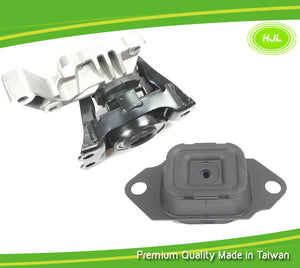 Engine Motor Mount 2 PCS Set For Nissan Versa 1.6L 112101HS0A / 112201HA0B - #49790-EM022