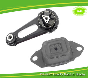 Engine Motor Mount 2 PCS Set For Nissan Versa 1.6L 112201HA0B / 113601HC0D - #49790-EM032