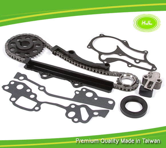 Timing Chain Kit Fits 85-95 Toyota 4Runner Pickup Celica 2.4 SOHC 22R 22RE - #HJ-05110-B
