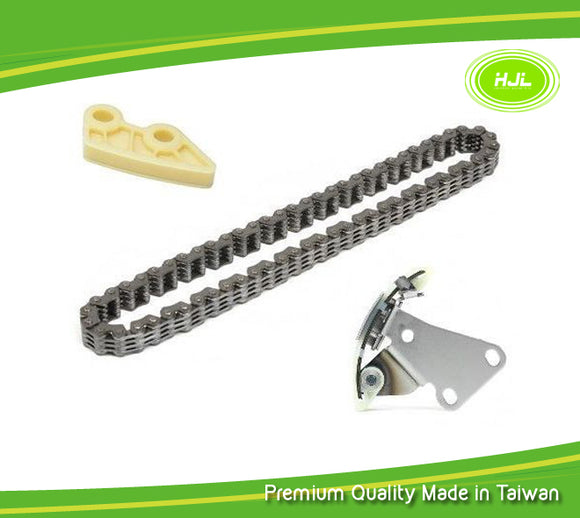 Oil Pump Chain Tensioner Guide Set For Honda Civic Acura RSX Type-S K20A2 K20A3 - #HJ-07022-O