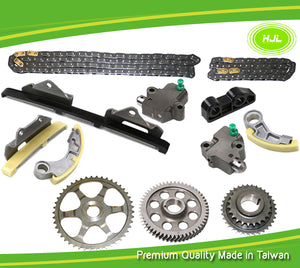 FOR HONDA 2.2 CTDI N22 N22A1 N22A2 TIMING CAM CHAIN TENSIONER SPROCKETS PUMP KIT - #HJ-07058
