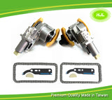 Pair For VW Passat AUDI A4 A6 2.7T 2.8 V6 Camshaft Timing Chain & Tensioner Kit - #HJ-24042