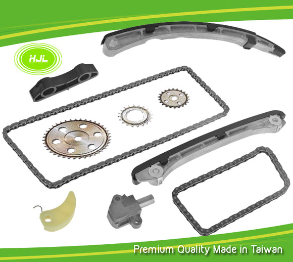 Timing Chain Kit Fits MAZDA Speed 3 6 CX-7 2.3L MPS L3K9 TURBO 2007-13 w/Gears - #HJ-31160