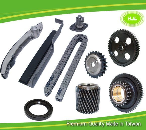 Timing Chain Kit Fit MITSUBISHI Pajero Delica Canter TRITON 2.8L Diesel Engine: 4M40 1993-02( Double Row Chain) with Gears - #HJ-39106