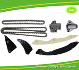 Timing Chain Kit Fit Hyundai Sonata Tucson Kia Optima Rondo 2.4L w/o Gears 06-12 - #HJ-41019-A