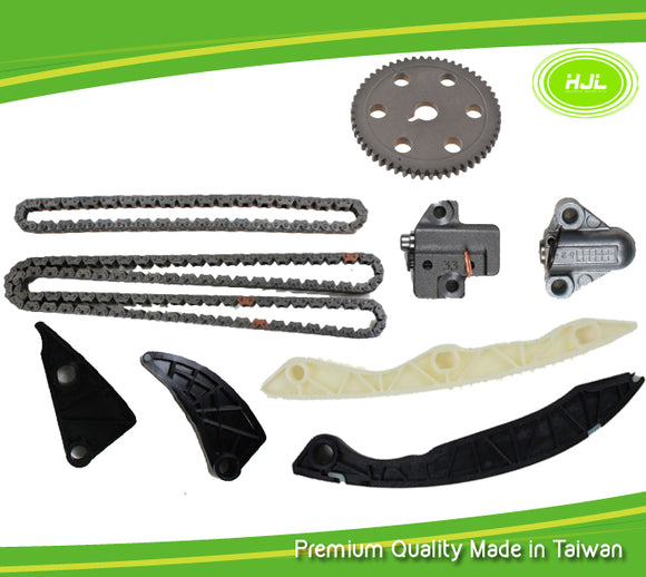 Fit Hyundai Sonata 2006-2007,Kia Optima Rondo Forte Forte Koup 2.4L 2006-2012 Replacement Timing Chain Kit With Cam Gear - #HJ-41019-B
