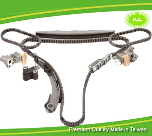 Fits 2005-2010 Nissan Pathfinder Xterra Frontier NV3500 4.0L VQ40DE Timing Chain Kit without Gears - #HJ-49178-A