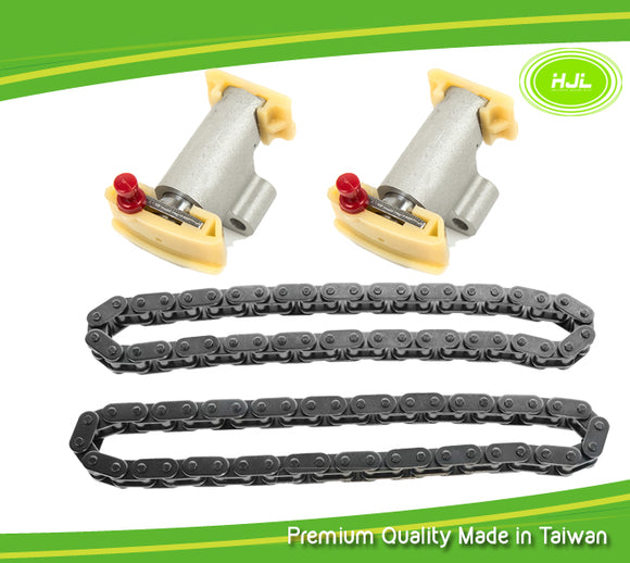 Secondary Timing Chains+Tensioner Kit Fit Land Rover Range Rover LR3 V8 4.2L 4.4L - #HJ-58011-AB
