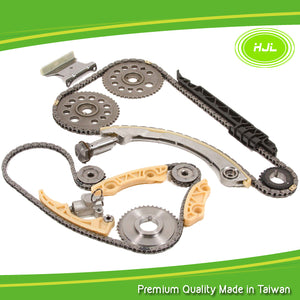 Timing Chain Kit Fits Saturn ION L100 L200 VUE, Chevrolet Cavalier Cobalt HHR, Pontiac G5 Sunfire 2.2L 00-11 w/Gears - #HJ-77057