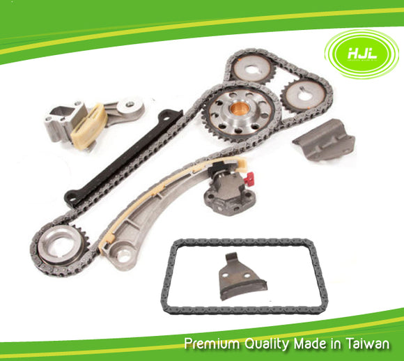 Timing Chain Set For Suzuki Aerio Vitara 1.8L 2.0L J18A J20A w/Oil Pump Chain - #HJ-91101-O