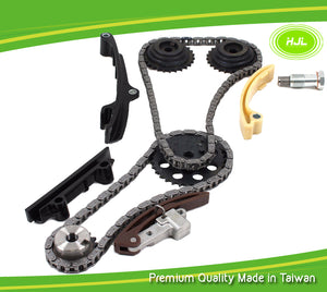 Timing Chain Gear Kit Upper-Single Row Fits 99-02 VW Jetta Golf VR6 2.8L AFP V6 - #HJ-24031