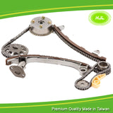 Timing Chain Kit For TOYOTA Camry RAV4 Highlander 2AZFE 2.4L Scion TC+VVT Gear  - #HJ-05123-CD