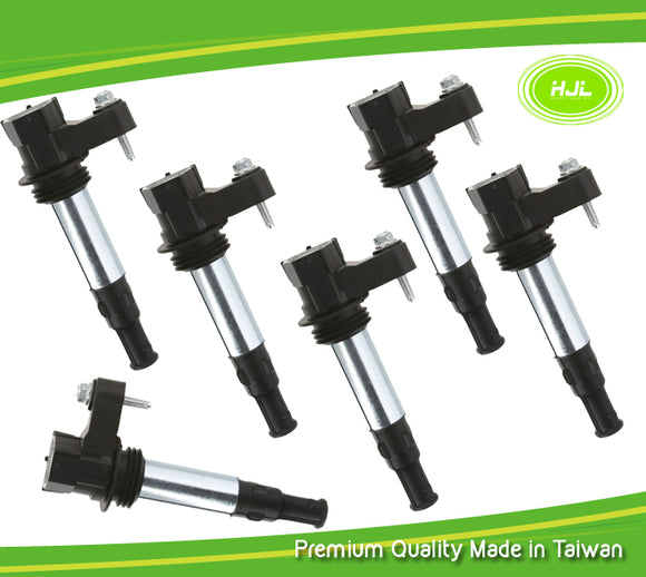 6PCS Set Ignition Coil For Traverse Allure Enclave Acadia CTS STS 3.6L 12629037 - #37026-73106