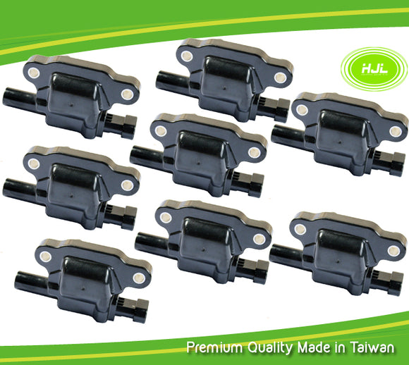 8 PCS Ignition Coil For HUMMER H3 ISUZU Ascender V8 5.3L 12570616 - #38005-73108