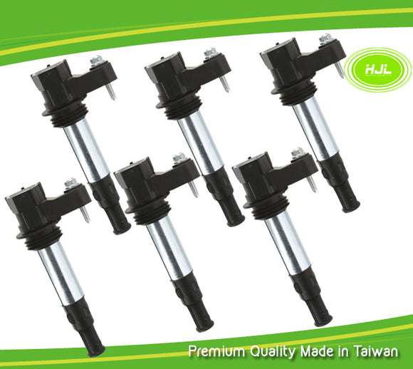 6PCS Ignition Coil for Holden Commodore VZ Adventura Calais Rodeo RA V6 12566569 - #37726-73106