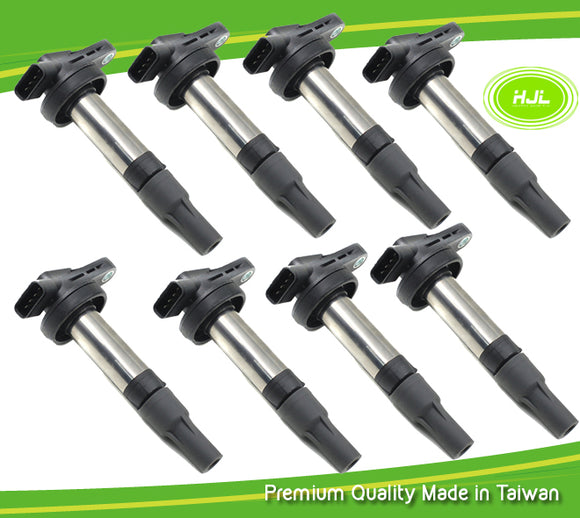 8 PCS Ignition Coil For Jaguar S-Type XF XJ XK8 4.0 4.2 V8 AJ810445 - #89007-73108