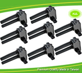 8 PCS Ignition Coil For JEEP Grand Cherokee Chrysler 300 Dodge V8 56029129AA - #44024-73108