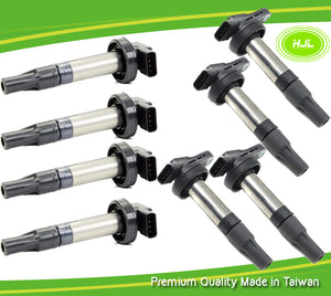 8 PCS Ignition Coil For LAND ROVER Discovery Range Rover 4.2 4.4 V8 4526466 - #58167-73108