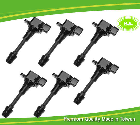 6 PCS Ignition Coil For Suzuki Infinity QX4 Nissan Altima Maxima 3.5 22448-8J115 - #49178-73106