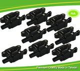 8 PCS Set Ignition Coil For SAAB 9-7X V8 5.3L 6.0L 12570616 2005-2009 - #92623-73108