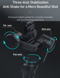 3-Axis Smartphone Gimbal Handheld Stabilizer Vlog Youtuber Smart Face tracking - #MOBIL-31100