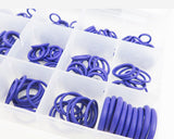 270 PCS O Rings Round Rubber Seal Universal Assortment Kit Plumbing Air Auto - #ORING-00270