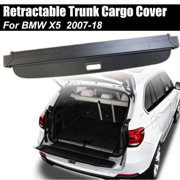 Retractable Trunk Cargo Cover Luggage Shade Shield For BMW X5 E70 F15 2007-2018 - #02022-21200