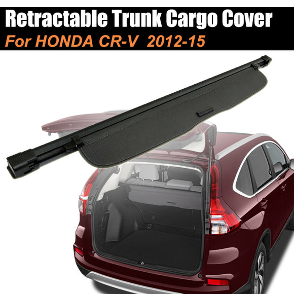 Retractable Trunk Cargo Cover Luggage Shade Shield For HONDA CR-V 2012-2015 - #07713-21200