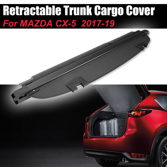 Retractable Cargo Cover KB7WV1350 Luggage Shade Shield For Mazda CX-5 2017-19 - #31558-21200