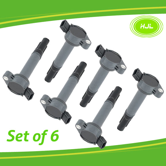 6PCS Ignition Coil for Lexus 2.5L 3.5L DOHC 24V 2GRFE 2GRFSE 2GRFXE 4GRFSE - #05206-73106