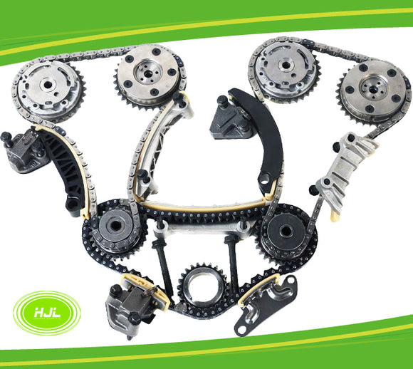 TIMING CHAIN KIT For ALFA ROMEO 159 Spider Brera JTS 939A0 3.2L w/4 VVT Gears - #HJ-16088-V