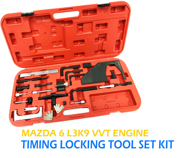 MAZDA 3 6 CX-7 2.3 MPS TURBO DISI L3 L3K9 VVT ENGINE TIMING LOCKING TOOL SET KIT - TOKIT-31160