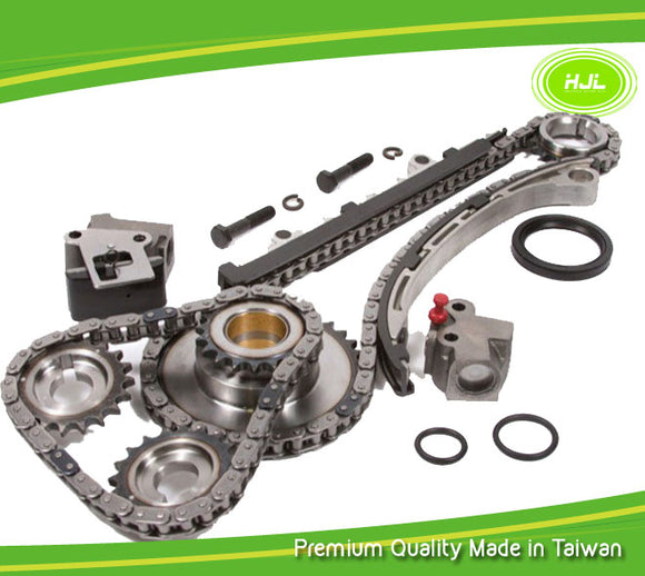 Timing Chain Kit Fits 98-04 Nissan Frontier Altima Xterra 2.4L DOHC Engine:KA24DE - #HJ-49122-N