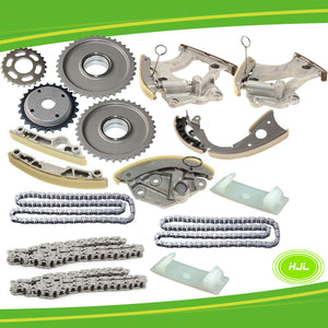 Timing Chain Kit For AUDI A6 A7 A8 Q5 Q7 S5 VW TOUAREG 3.0T V6 w/Gears 2012-16 - #HJ-01016