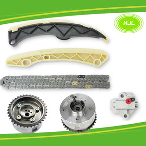 Timing Chain Kit For Hyundai Accent i30 i40 ix35 Veloster 1.6L w/2 VVT Gears - #HJ-41642-V