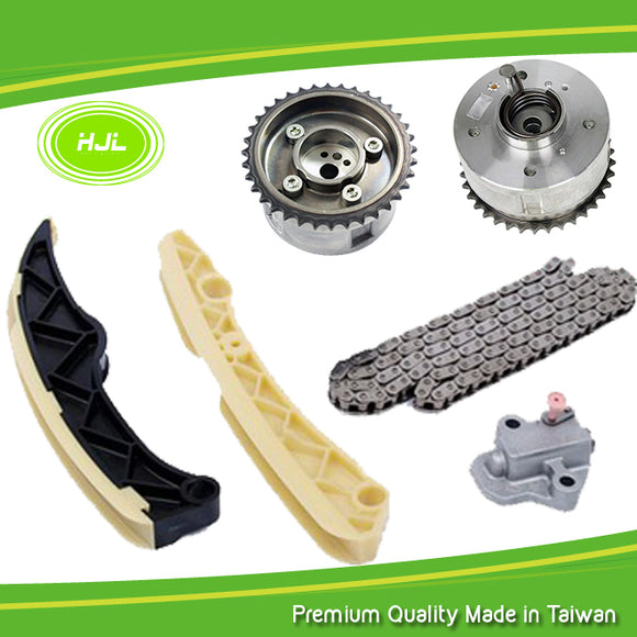 Timing Chain Kit For KIA Rio Soul Sportage Carens 1.6L GDI w/2 Camshaft VVT Gear - #HJ-42642-V