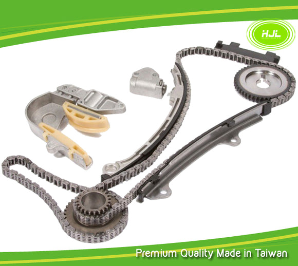 Timing Chain Kit Fits 2002-2006 Nissan Altima Sentra 2.5L DOHC Engine:QR25DE with Gears - #HJ-49180