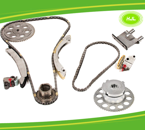 Timing Chain Kit+Camshaft VVT Gear For Chevy Colorado GMC HUMMER H3 2.9 3.7 4.2 - #HJ-37152-V