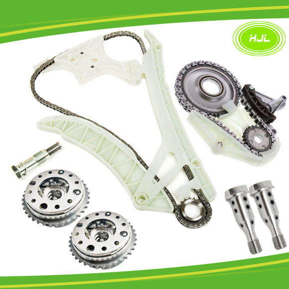 Timing Chain Kit w/Oil Pump Chain Set For BMW N20 N26+2 VVT Gear+2 Central Valve - #HJ-02226-FVS
