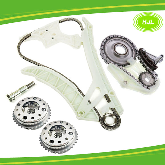 Timing Chain Kit w/Oil Pump Drive Chain Set For BMW N20 N26 2.0L+2 VVT Gears - #HJ-02226-FV