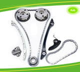 Timing Chain Kit+2 VVT & Oil Pump Chain For Land Rover Range Rover Evoque 2.0L - #HJ-58123-O