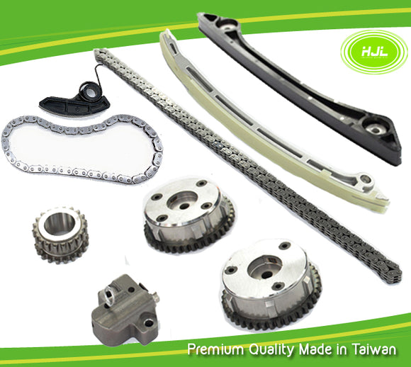 Timing Chain Kit w/Oil Pump Chain For Ford Mondeo Kuga 2.0 ECOBOOST+2 VVT Gears - #HJ-04223-O