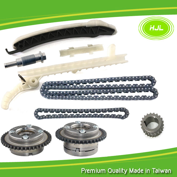 Timing Chain Kit For Mercedes-Benz W246 M270 M274 GLC GLK 1.6 2.0L+2 VVT Gears - #HJ-32070-V
