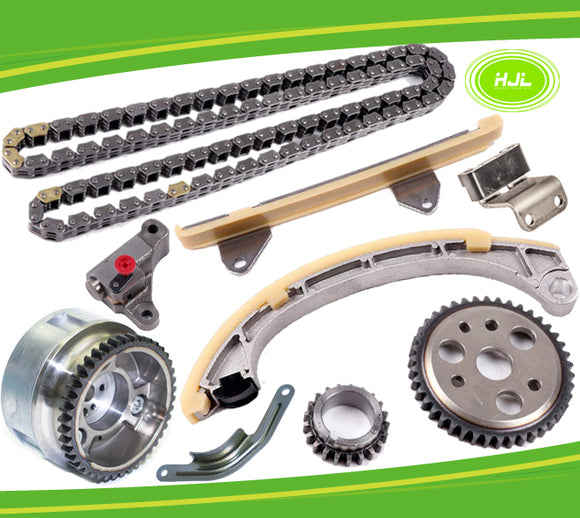 Timing Chain Kit For TOYOTA YARIS VITZ ECHO SCP90 1.3L 2SZ-FE +VVT Gear 1999-11 - #HJ-05211