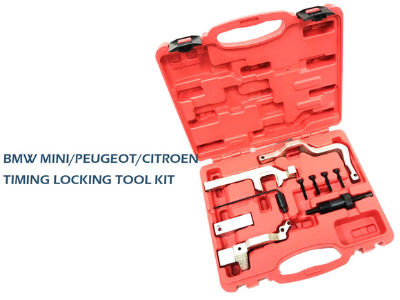BMW MINI/PEUGEOT/CITROEN/PAS N12 N14 R55 R56 1.4 1.6 CAM TIMING LOCKING TOOL KIT - #TOKIT-02003